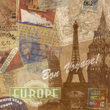 Destination, Europe Art by Tom Frazier