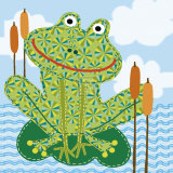 Frankie the Frog Posters by Jessie Eckel