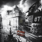 Piccadilly Print by Jurek Nems