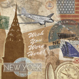 Destination, New York Prints by Tom Frazier