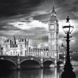 Big Ben, Londres - Horloges Art par Jurek Nems