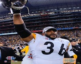 Super Bowl XL - Jerome Bettis Celebration Prints