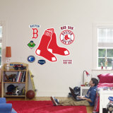 Boston Red Sox Logo Wall Decal