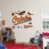 Baltimore Orioles Logo Wall Decal