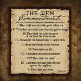 Jennifer Pugh - The Ten Commandments Plakát