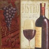 Wine List I Posters par Daphne Brissonnet