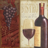 Wine List I Plakaty autor Daphne Brissonnet