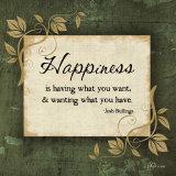 Happiness Print by Jennifer Pugh