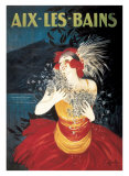 Aix les Bains Art by Leonetto Cappiello
