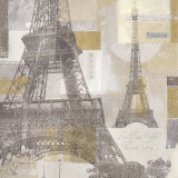 Eiffel Tower III Posters by Pela &amp; Silverman 