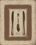 Knives Prints by Jo Moulton
