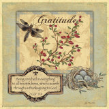 Gratitude Posters by Jo Moulton