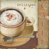Amantes de café II Láminas por Lisa Audit