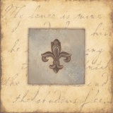 Fleur De Lis VI Posters by Stephanie Marrott
