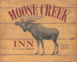 Moose Creek Kunstdruck von Stephanie Marrott