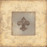Fleur De Lis V Posters by Stephanie Marrott