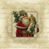 Pere Noel Print by Stephanie Marrott
