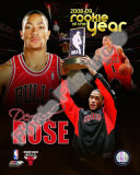 Derrick Rose - '08 / '09 ROY Composite Photo