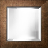 Brushed Bronze Bevel Mirror Wall Mirror