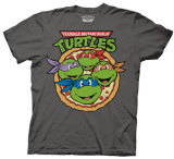 Teenage Mutant Ninja Turtles - Pizza T-Shirts