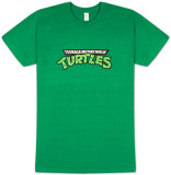 Teenage Mutant Ninja Turtles - Logo (Slim Fit) T-shirts