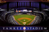 New York Yankees Stadium Poster
