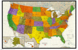 U.S. Map Print