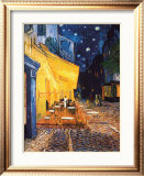 The Cafe Terrace on the Place du Forum, Arles, at Night, c.1888 Prints by Vincent van Gogh