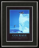 Courage Posters by Steve Bloom