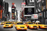 Times Square - Yellow Cabs Print