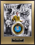 Buddy Holly Framed Memorabilia