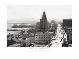 Ocean Avenue, Long Beach, 1940 Giclee Print