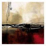 Sinfonia em Vermelho e Cáqui I Impressão giclée premium por Laurie Maitland