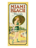 Miami, by the Sea Giclee Print