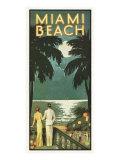 Miami Beach Giclée-Druck