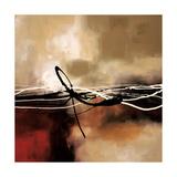 Laurie Maitland - Kırmızı ve Haki Senfoni II - Birinci Sınıf Giclee Baskı