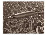 USS Macon, San Francisco, 1933 Giclee Print by Clyde Sunderland