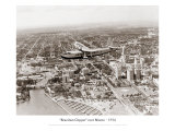 Brazilian Clipper over Miami, 1934 Giclee Print
