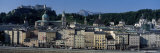 Buildings in a City with a Fortress, Hohensalzburg Fortress, Salzburg, Austria Photographic Print by  Panoramic Images