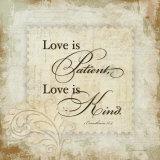 Love Is Affiches par Stephanie Marrott