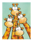Funny Friends II Schilderijen van Jean Paul