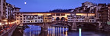 Bridge across Arno River, Ponte Vecchio, Florence, Tuscany, Italy Photographic Print by Panoramic Images
