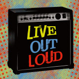 Live Out Loud Poster av Louise Carey