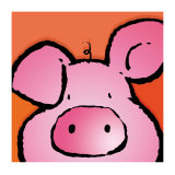 Pig Poster by Jean Paul