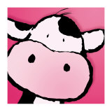 Cow Poster by Jean Paul