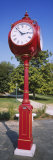 View of a Clock in a Park, Indiana University, Bloomington, Monroe County, Indiana, USA Photographic Print by  Panoramic Images
