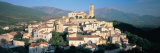 View of a Town, Goriano Sicoli, L'Aquila Province, Abruzzo, Italy Photographic Print by  Panoramic Images