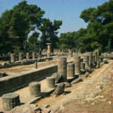 Olympia, UNESCO World Heritage Site, Greece, Europe Photographic Print by Robert Harding