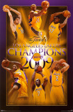 Los Angeles Lakers - 2009 NBA Champions Prints