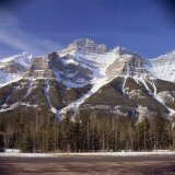 Snow Capped Mountains, Rockies, Near Banff National Park, Alberta, Canada, North America Photographic Print by Rob Cousins